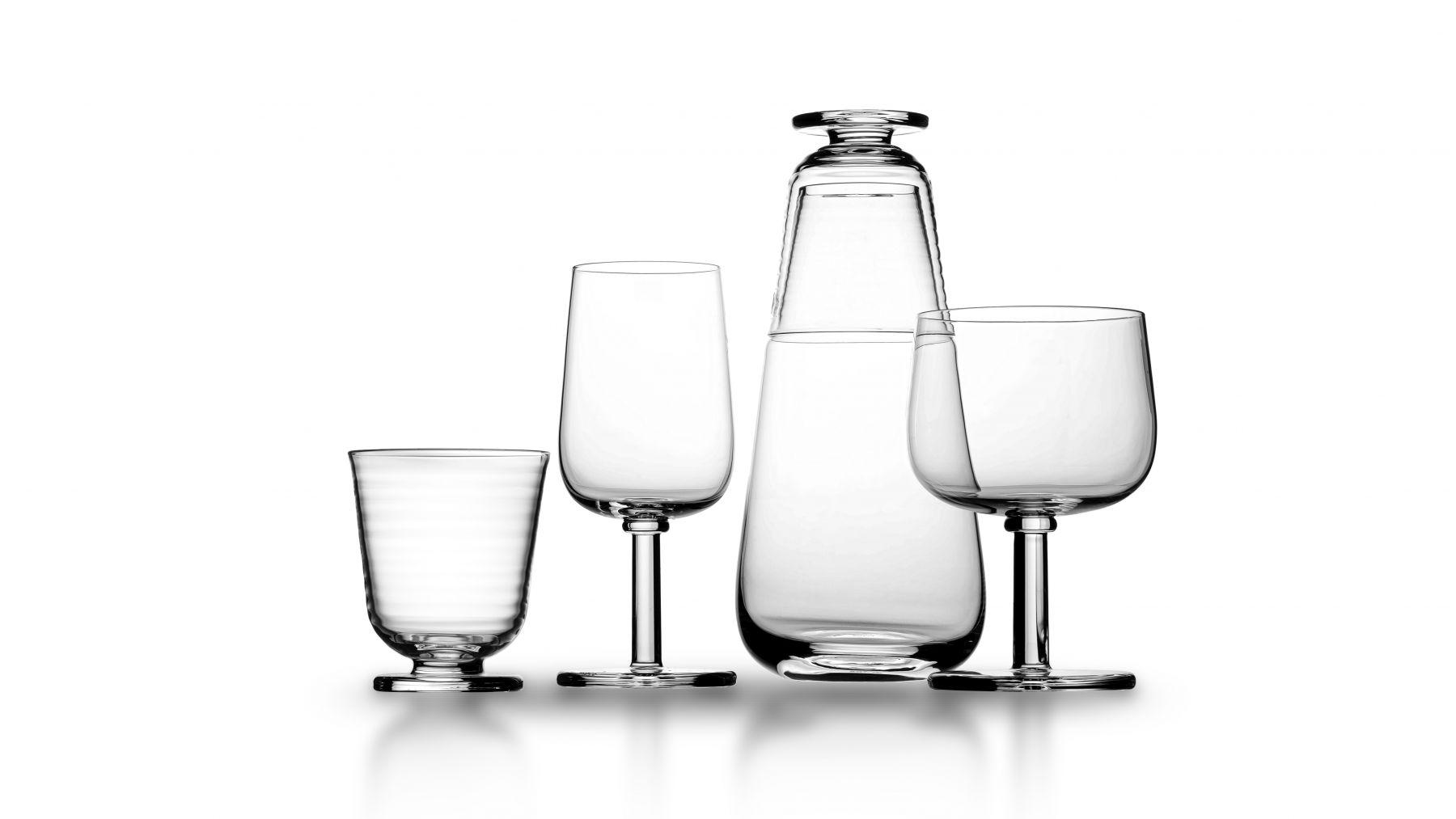 Glasserien Viva formgiven av Matti Klenell för Kosta Boda, 2020.